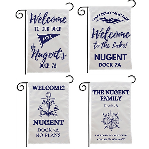 Personalized Dock Flags