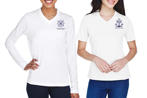 Women's Zone Performance Tee - Compass Anchor Designs