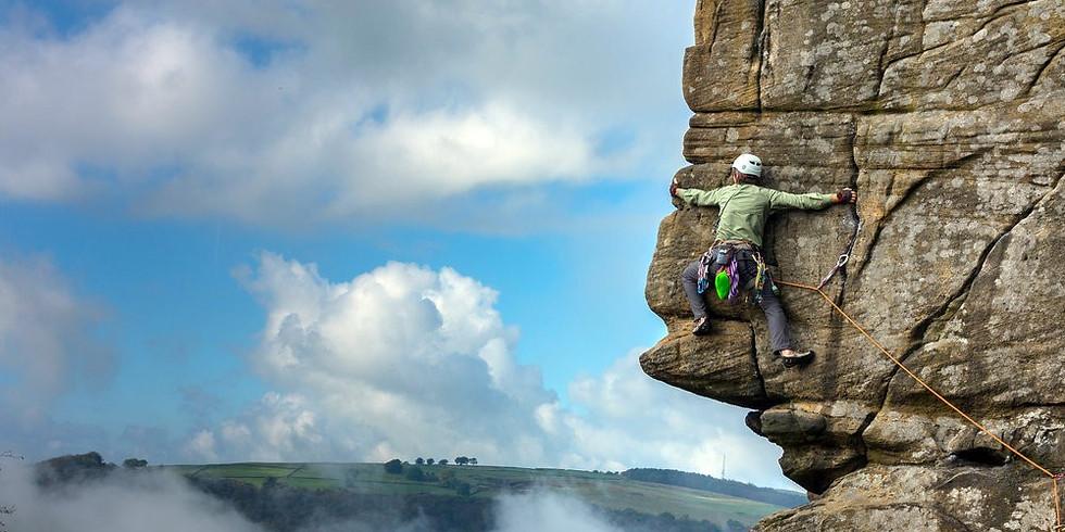 Froggatt Edge - Trad Climbing