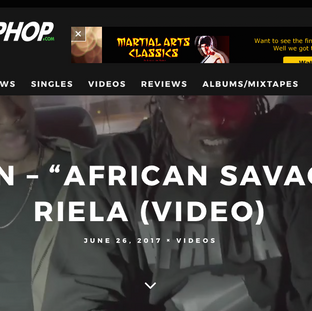 African Savage On IndieHipHop.Com