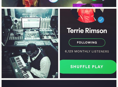 AProduced Record By D.Rim hits 40k Streamson Spotify after one week (Love Come Down - Terrie Rimso