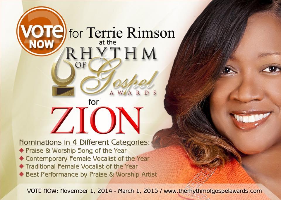 Terrie Rimson - Zion (Single)