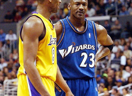 My Malcolm X & Dr.King was Michael Jordan & Kobe.