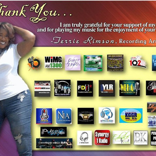 Terrie Rimson Goes on Syndicated Radio Across the country, Executive and production credits by D.Rimson