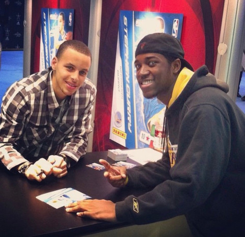When I first met Steph Curry