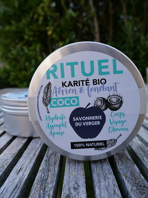 Beurre au Karité fouetté RITUEL COCO