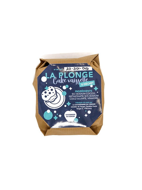 Recharge cake vaisselle - La Plonge