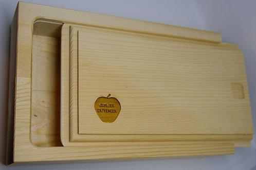 Boîte à savons en bois