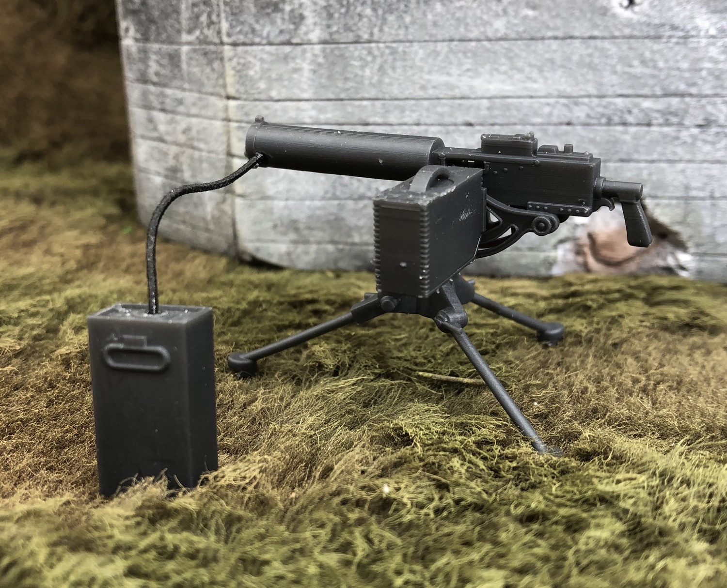 M1917A1 Water Cooled 30 Cal Machine Gun