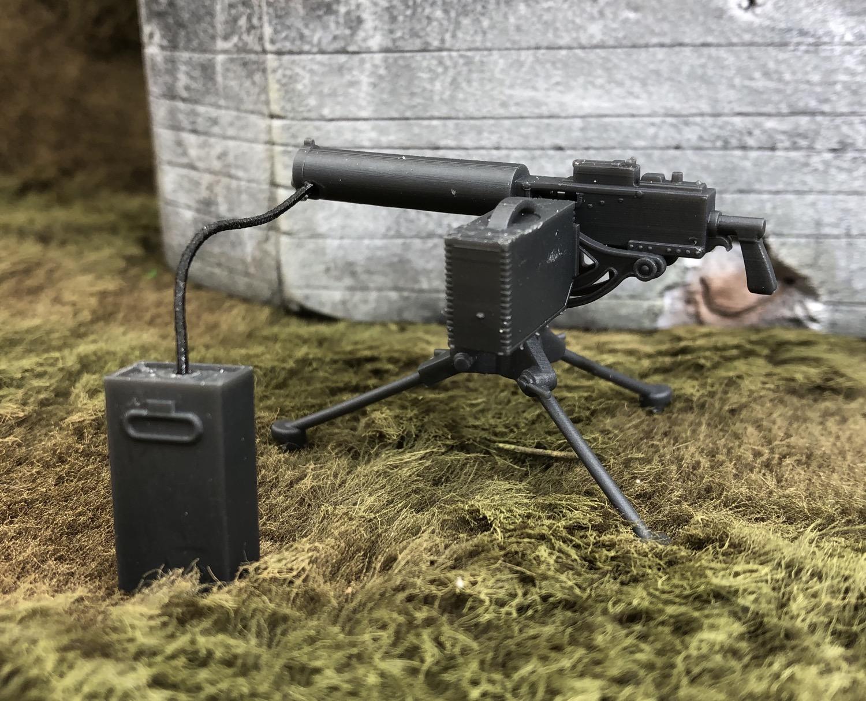 M1917A1 Water Cooled 30 Cal Machine Gun
