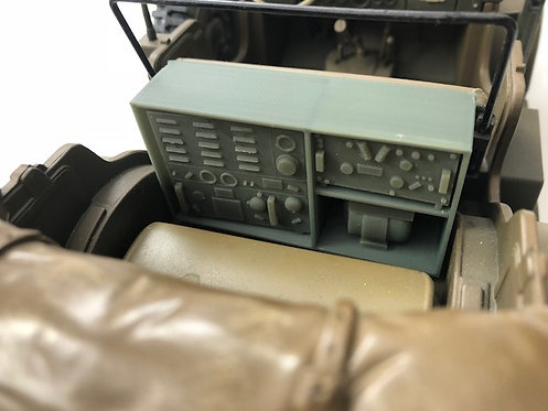 SCR-193 Radio Set  Dodge WC-57 Command Car