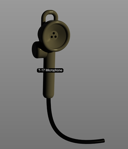 T-17- Hand microphone with wire