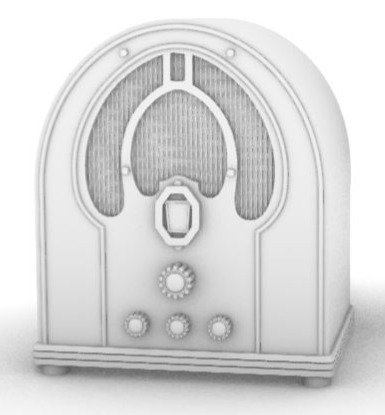 Philco 44b Cathedral Civilian Radio