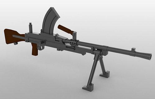 Bren Machine Gun MK4 with two bipods