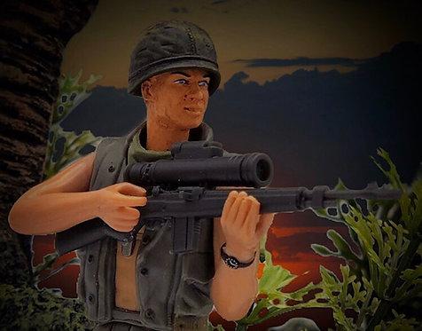 "M-14 Sniper Rifle ""Starlight"" AN-PVS2 Night vision set"