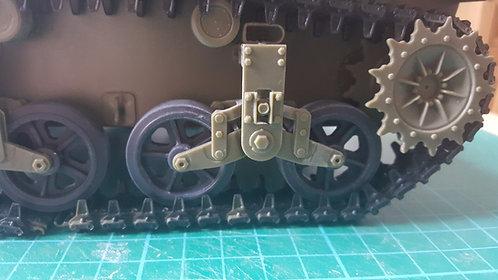 Classy Hobby M5A1-M5-M3-M3A1 Stuart Tank Road Wheels - Welded