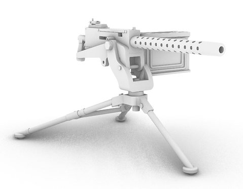 M1919A4 30 Cal Machine - M2 Tripod