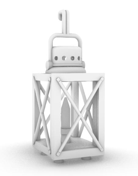 Lantern/Lamp - Luftschultz Field Candle - Set