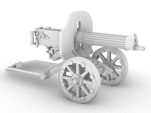 M1910 Maxim Machine Gun - Interwar to Early WW2 version