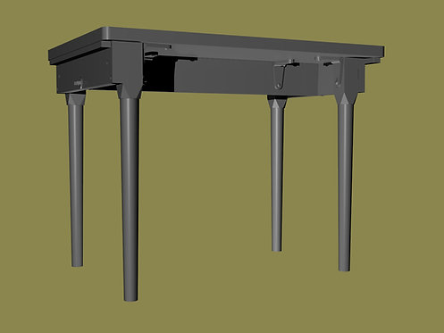 US Folding Field Table - Post WW2