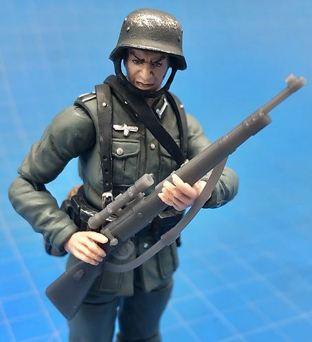 Kar 98k Rifle with Sling - Set