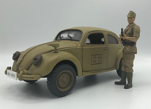 VW KDF  Conversion Kit for 1:18 Maisto 1951 Beetle -4WD