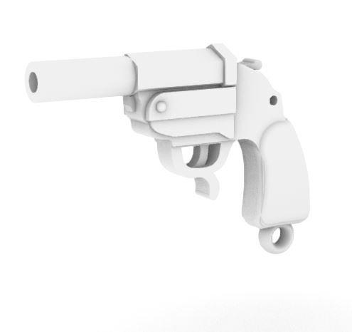 Leuchtpistole 34 Single Barrel Flare Pistol - Set