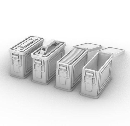 U.S. Ammo Metal Cans .30 Cal - Set