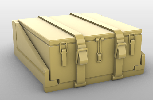 Tiger 1 - Early - Toolbox and shelf
