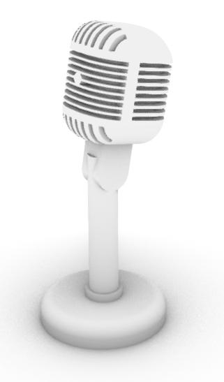 Shure 55C Desktop Microphone