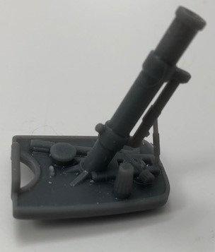 German 5cm Mortar - Granatwerfer 36