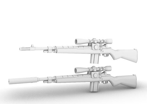 M-21(M-14) SWS Sniper Weapons System - set