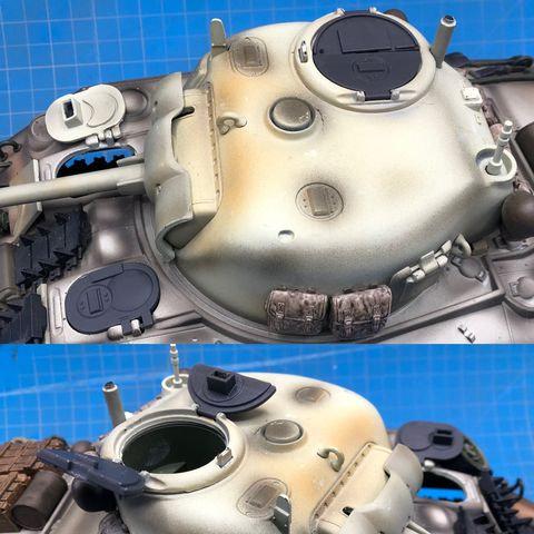 M4 Sherman Tank Upgraded Hatch Set - 21st Century Toys