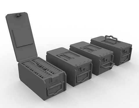 Patronenkasten 11 (Ammo Can) MG08-MG08/15 - Set