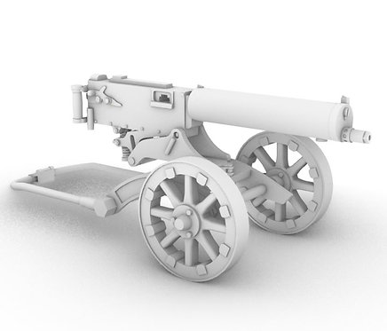 M1910 Maxim Machine Gun - WW1