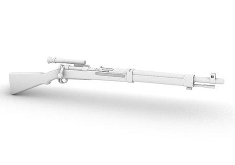 Japanese Type 99 Arisaka - 2.5x Sniper Rifle - Set