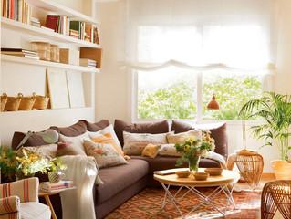 Ideas para redecorar tu living