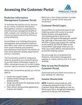 PIM Customer Portal Tips