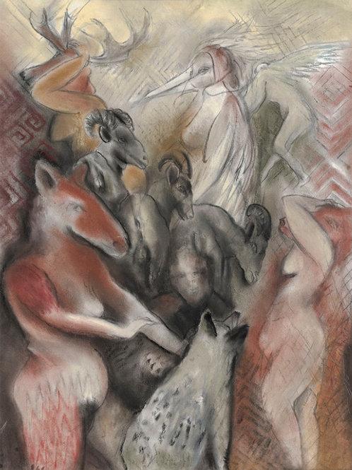 Masked Dance by Roberta Pyx Sutherland