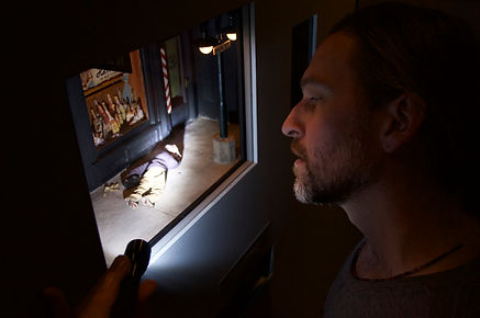 David Ferguson looks at miniature death scene