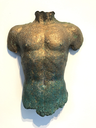 Gold - Miniature Torso by Miles Lowry