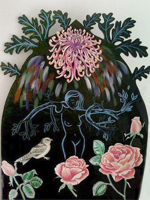 The Metamorphosis of Daphne by Miles Eldredge