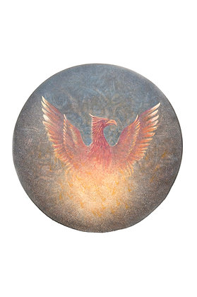 Phoenix Drum by Miles Lowry