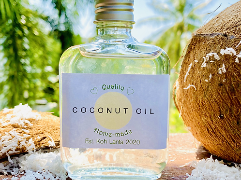 Home-made Coconut Oil