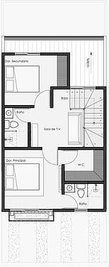 Vivienda Acanto Opción 2do piso  #1 sin