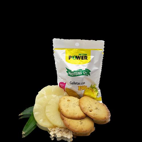 Galletas con proteína sabor piña