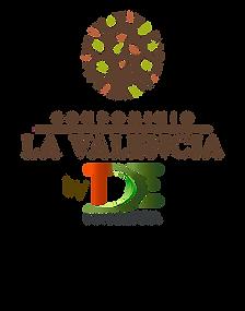 Logo la valencia by TDE vertical color.p