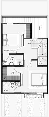 Vivienda Acanto Opción 2do piso  #2 sin