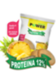 Galltas con piña Protein Power by New Life