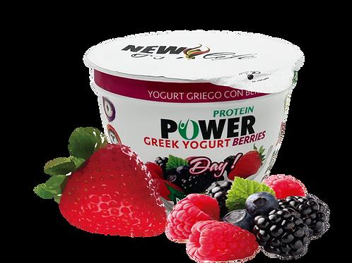 Yogurt griego con berries